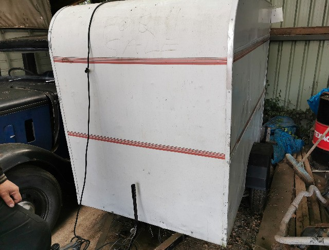 Box Trailer. Single axel