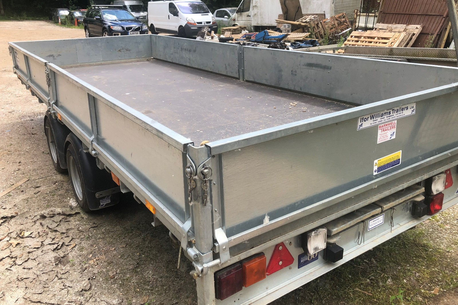 Ifor Williams t/a flat bed