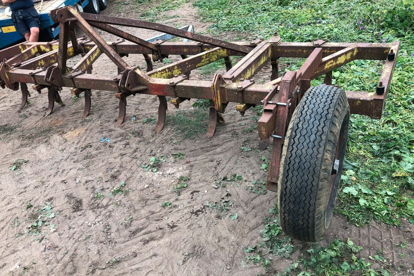 Kilworth heavy spring tine cultivator